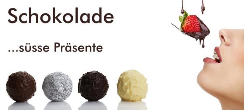 Schokolade & Co ... süsse Präsentideen